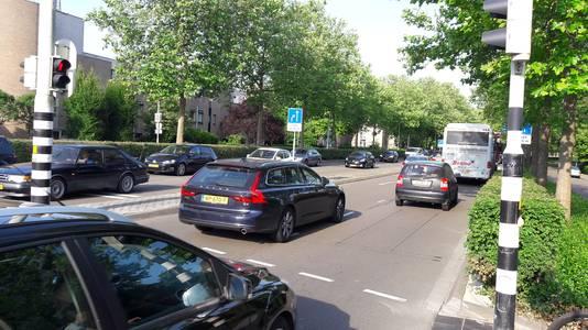 Ochtenddrukte zuidelijke rondweg Breda