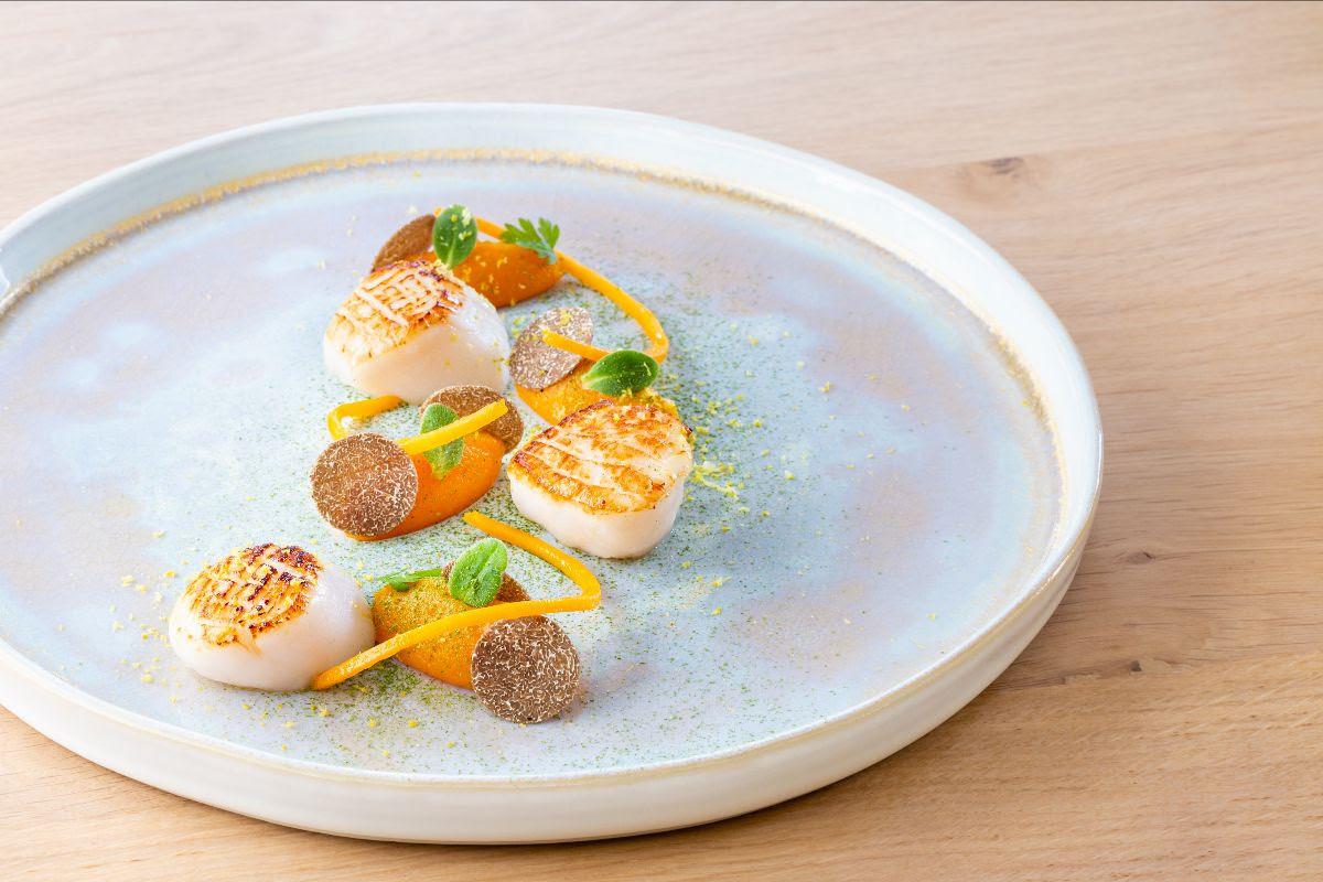 Le restaurant Le Gastronome à Paliseul est doré d'une étoile au Michelin.