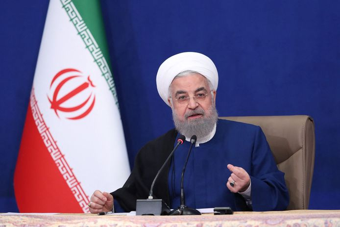 Hassan Rouhani, aftredend president van Iran.