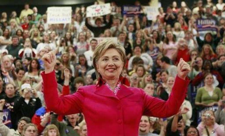 Hillary Clinton, de Rocky van de Amerikaanse presidentsverkiezingen Beeld UNKNOWN