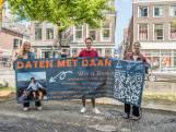 Vleeskeuring boven Delftse gracht: Daan (21) scoort veertig matches met spandoek