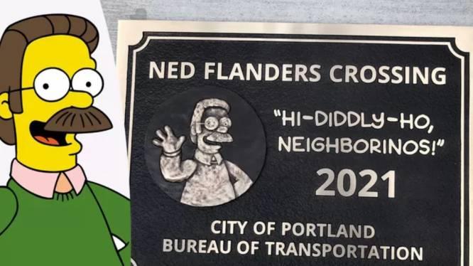 Ce personnage des Simpson a désormais un pont à son nom