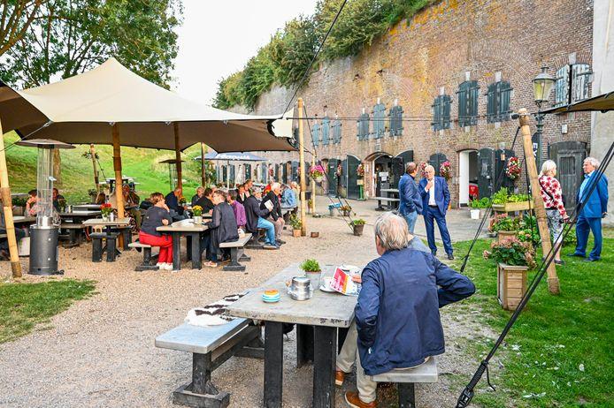 Fort Sabina is steeds vaker decor van allerlei evenementen. Enkele weken geleden was er de aftrap van het Monumentenweekend van de gemeente Moerdijk.