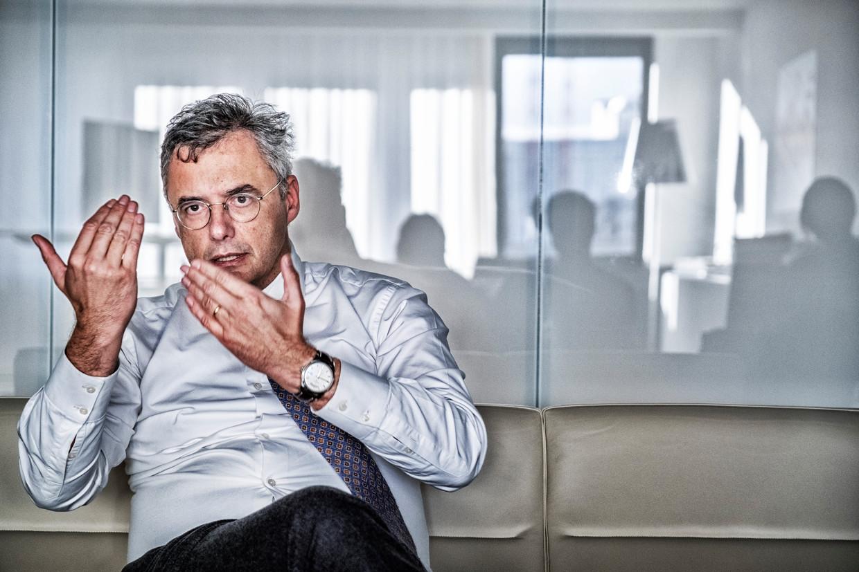 Partijvoorzitter Joachim Coens heeft ook te kampen met onvrede in de eigen rangen. Beeld Tim Dirven