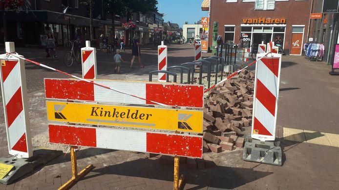 In de Griethsestaat zijn vorige week fietsnietjes geplaatst.