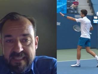 """Onze tennisexpert Filip Dewulf over Djokovic: """"Diskwalificatie is logische beslissing"""""""