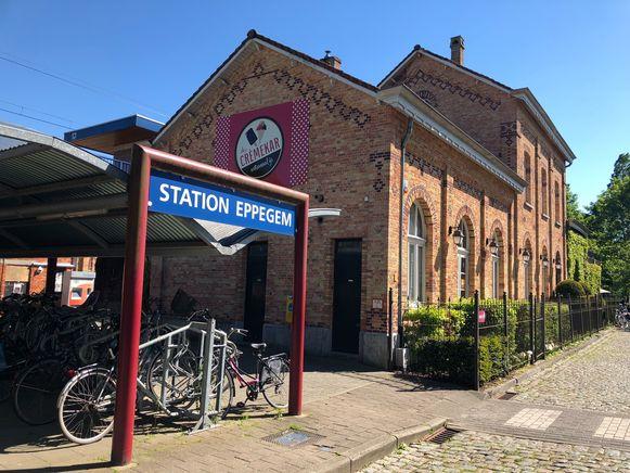 Het station van Eppegem