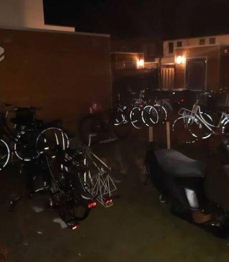 Bosschenaar vrij nadat 22 gestolen fietsen in zijn achtertuin zijn gevonden