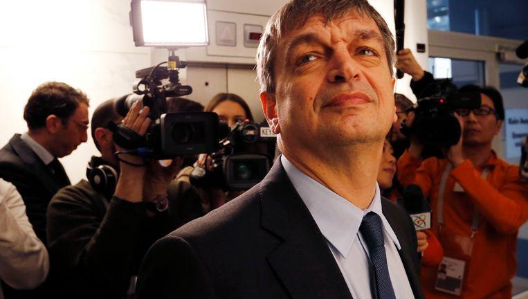 Presidentskandidaat Jerôme Champagne. Beeld ap