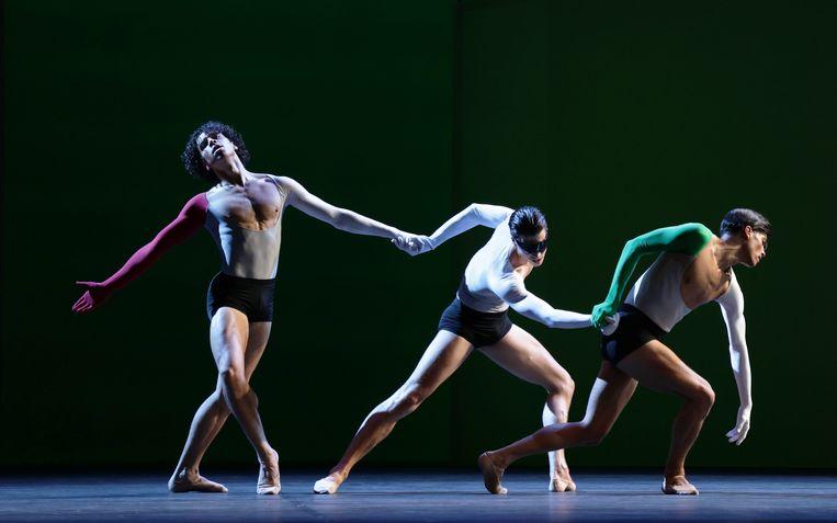 Lucifer Studies van choreograaf Toer van Schayk door Het Nationale Ballet Beeld Hans Gerritsen