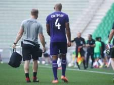 """""""Se préparer à une longue absence"""": Anderlecht craint le pire pour Vincent Kompany"""