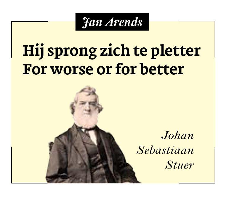 Jan Arends Beeld Johan Sebastiaan Stuer