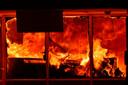 Op het terrein van De Zwarte Bergen heeft in de afgelopen maanden al vaker brand gewoed.