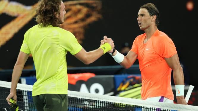 Sensatie op Australian Open: Griek Tsitsipas keert situatie helemaal om in kwartfinale en schakelt Nadal uit