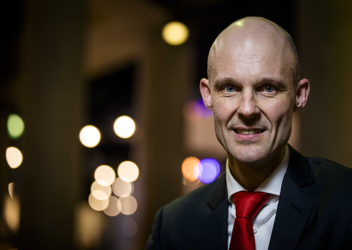 Maurice Meeuwissen, lijsttrekker voor PVV in Rotterdam.