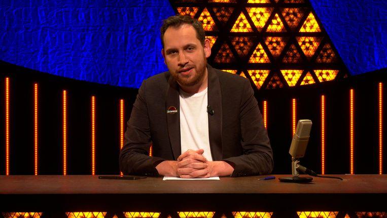 Xander De Rycke in zijn nieuwste 'Houdt het voor bekeken'-special op Streamz.  Beeld Streamz
