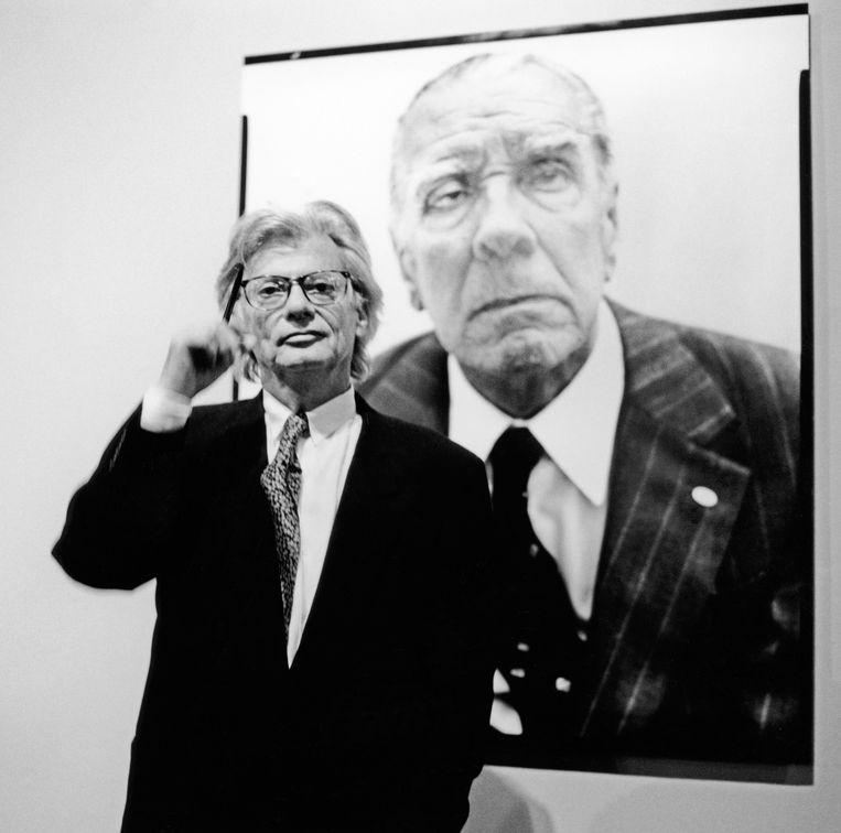 Forograaf Richard Avedon. Beeld Hollandse Hoogte / Sueddeutsche Zeitung Photo