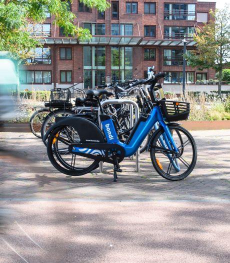 Al gespot? De blauwe e-bikes van Bondi zijn nu ook in Enschede en Almelo te huur