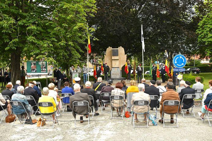 Herdenking Koning Boudewijn in Roeselare.