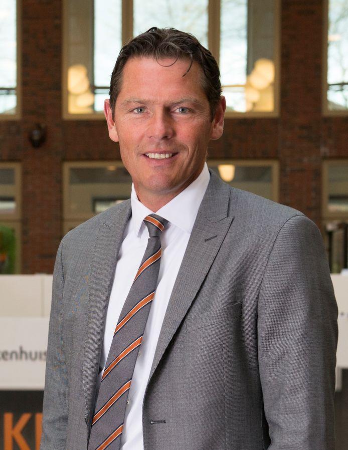 Peter Langenbach, bestuursvoorzitter van  het Maasstad Ziekenhuis.