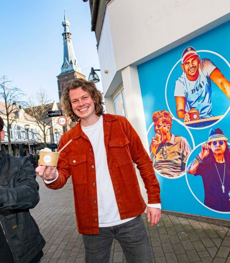 Tilburg krijgt nieuwe ijssalon aan de Oude Markt: 'Begon als grap, nu is het liefde'