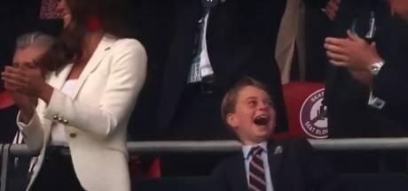 La réaction du prince George sur le but anglais devient virale
