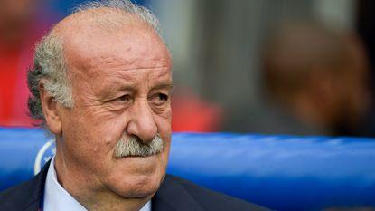 Vicente Del Bosque kondigt afscheid aan op radio