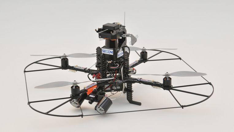Archieffoto. De drone van de Amsterdamse politie is een andere. Beeld ANP