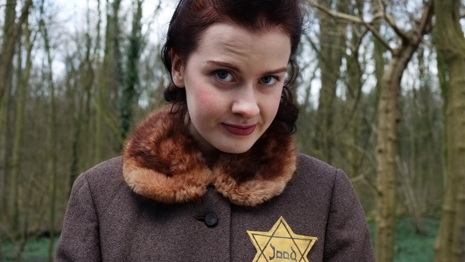 Oorlog-stories, een filmdrama voor de instagramgeneratie over de Tweede Wereldoorlog. De actrice heet Claudia Kanne.