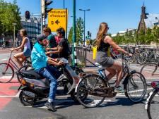 Op deze Utrechtse fietspaden mag je na de zomer niet meer komen met de snorfiets
