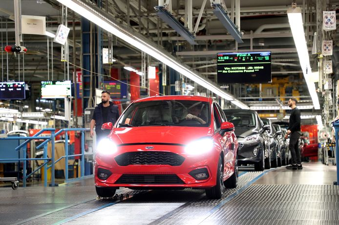 De Ford-fabriek in het Duitse Keulen.