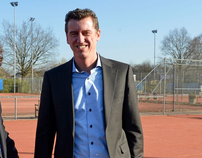 Voorzitter René Snijders van Tennisvereniging Denekamp.
