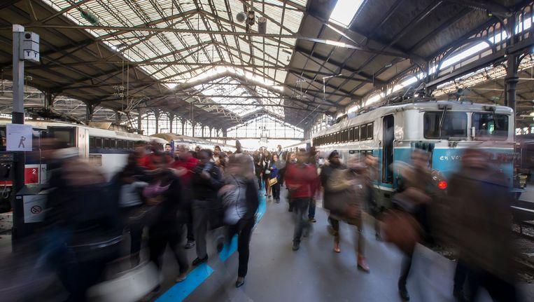 Treinstation Saint-Lazare in Parijs Beeld EPA
