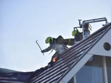 Grote brand in twee-onder-een-kapwoning in Zoetermeer