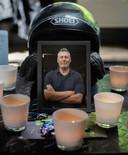Motoragent Arno kwam woensdag om het leven toen hij aan het werk was in de Rotterdamse Waalhaven.