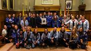 KSA Lancelot viert 75ste verjaardag met gemeentebestuur