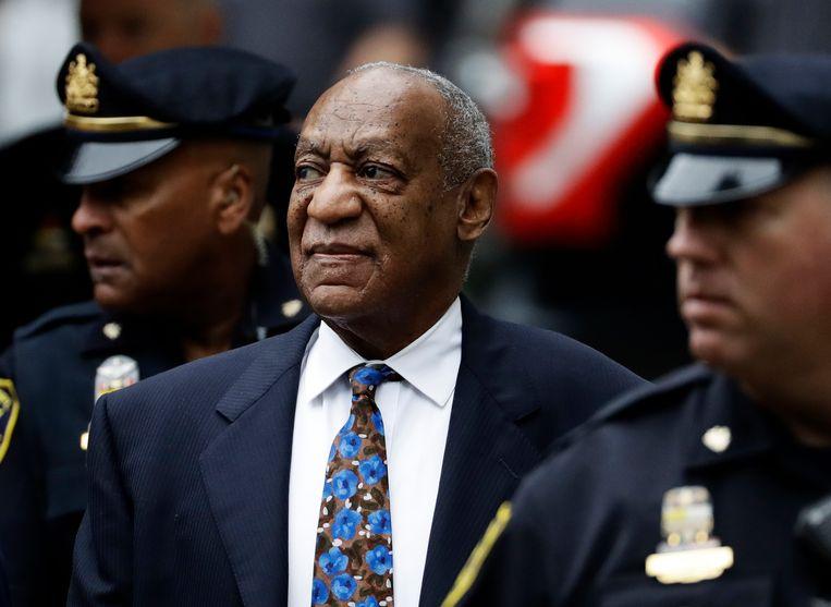 Bill Cosby in 2018, vlak voor hij zijn strafmaat te horen kreeg. Beeld AP