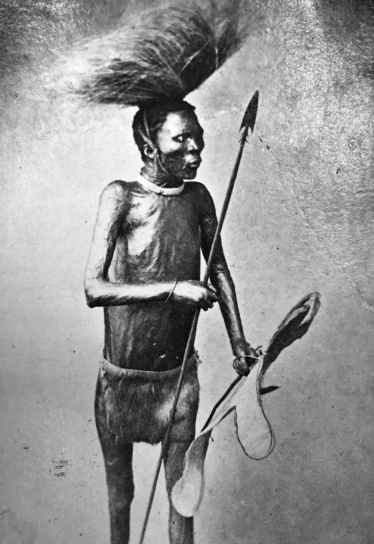El Negro, zwartwit foto Beeld