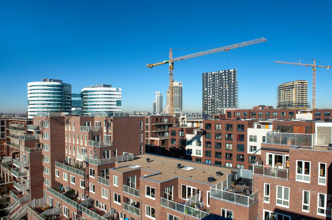 Appartementen in Amsterdam.