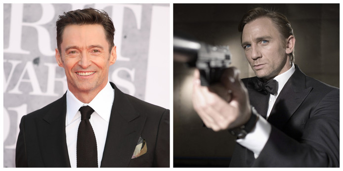 Hugh Jackman en Daniel Craig.