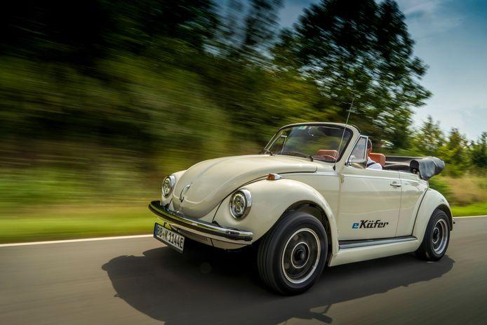 Volkswagen speelde eerder al met het idee van een klassieke Kever met een elektrische aandrijflijn.