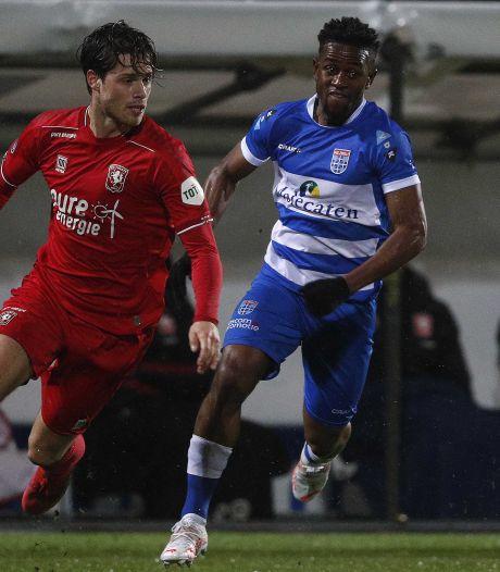 Misidjan helpt PEC Zwolle aan drie punten tegen ingestort FC Twente