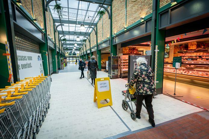 Nog even en het winkelcentrum is weer helemaal van deze tijd. Op 14 november is de officiële heropening.