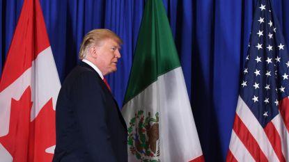 Witte Huis start proces om vrijhandelsakkoord met Canada en Mexico goed te keuren