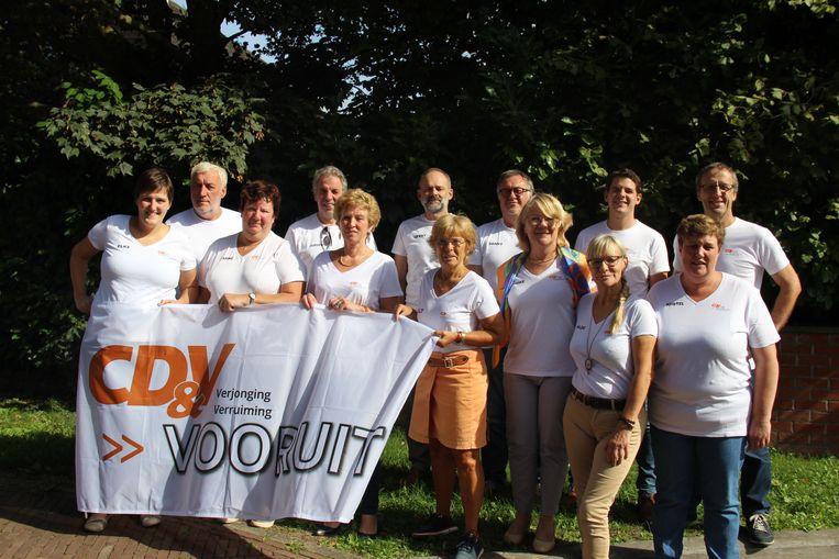 CD&V Vooruit wil met deze kandidaten opnieuw een plek in de meerderheid veroveren.