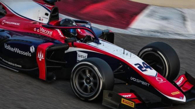 Viscaal voor het eerst op podium in Formule 2: 'Echt een opluchting'