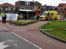 Fatale inschattingsfout vrachtwagenchauffeur in Hengelo en het  leven van een 72-jarige vrouw is 'pats, boem voorbij'