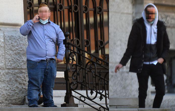 Kristof S. en Thomas M., die blind raakte aan een oog - zijn ondertussen geen vrienden meer.
