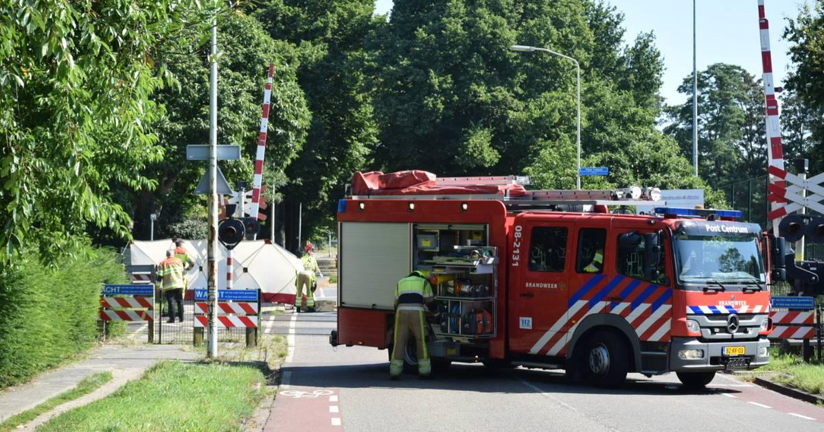 Aanrijding tussen trein en scooter: geen treinen tussen Meppel en Zwolle.