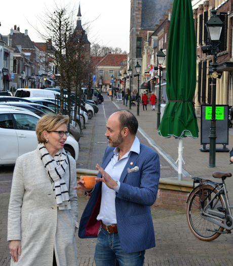 Voorstraat Vianen klaagt over tweerichtingsverkeer